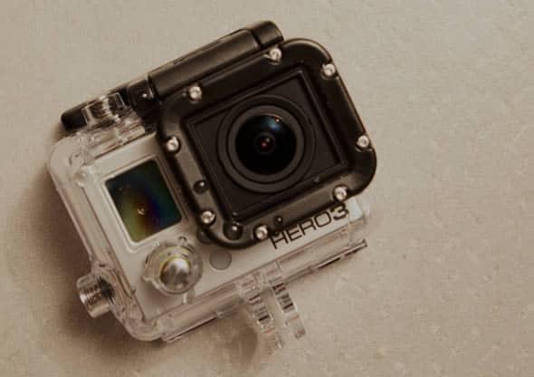 GoPro Hero 3 + Rain-X